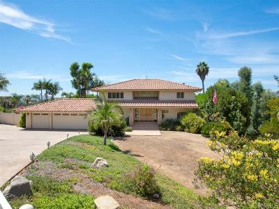 Escondido Single Family Home For Sale: 3015 Colley Lane