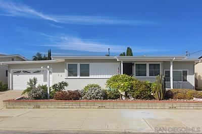 San Diego CA Single Family Home Pending: $569,000