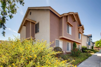 San Diego Townhouse For Sale: 1659 Manzana Way