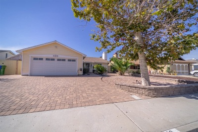 Oceanside Single Family Home For Sale: 3779 Cherrystone Street