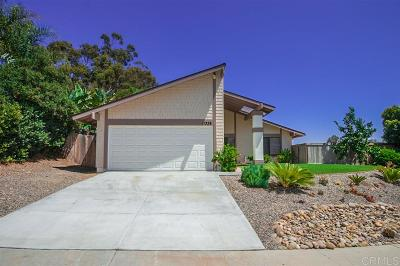 San Diego Single Family Home For Sale: 11338 Tribuna Avenue