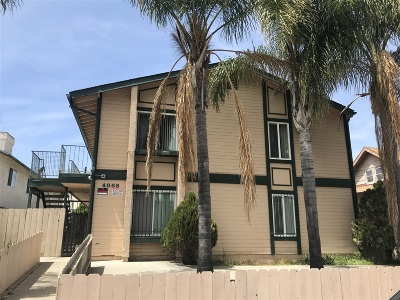 San Diego Multi Family 5+ For Sale: 4068 44th Street