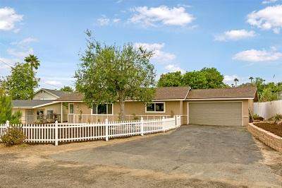 Vista Single Family Home For Sale: 1362 Teelin