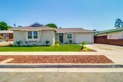 San Diego Single Family Home For Sale: 7715 Brookhaven Road