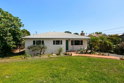 Encinitas/Leucadia, Leucadia, Leucadia Beach Community, Leucadia/Encinitas Single Family Home For Sale: 1245 Hymettus Ave