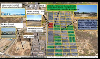 Riverside County Residential Lots & Land For Sale: 35435 Twin Willow Rd #2