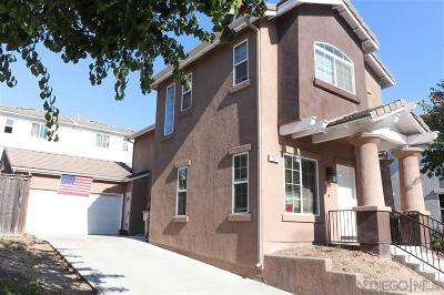 San Diego Single Family Home For Sale: 537 Stork St