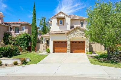 San Marcos Single Family Home Contingent: 1106 Calistoga Way