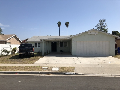 San Diego Single Family Home For Sale: Coralwood Dr