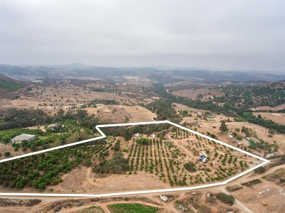 Valley Center Residential Lots & Land For Sale: 12395 Santa Catalina Rd #1