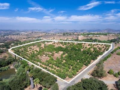 Valley Center Residential Lots & Land For Sale: 31216 Manzanita Crest Rd #1