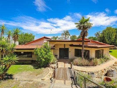 La Mesa Single Family Home For Sale: 4268 Camino Alegre