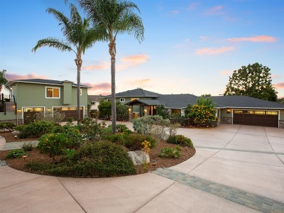 Carlsbad Single Family Home For Sale: 4005 Sunnyhill Dr