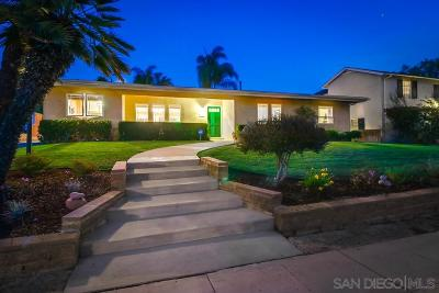 San Diego Single Family Home Pending: 4615 56th St