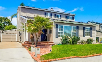 San Diego Single Family Home Sold: 3840 Talbot St