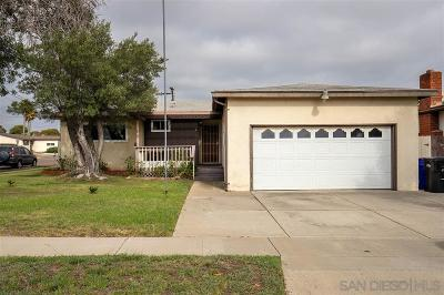 Single Family Home For Sale: 3897 Marlesta Drive