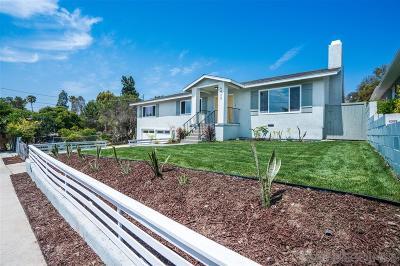 San Diego Single Family Home Pending: 6432 Edmonds