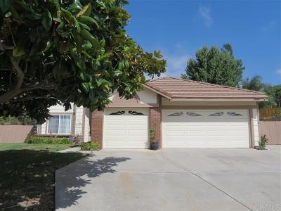 Oceanside Single Family Home For Sale: 764 Puerto Oro Ct.