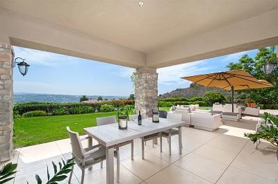 Rancho Santa Fe Single Family Home For Sale: 17644 Las Repolas