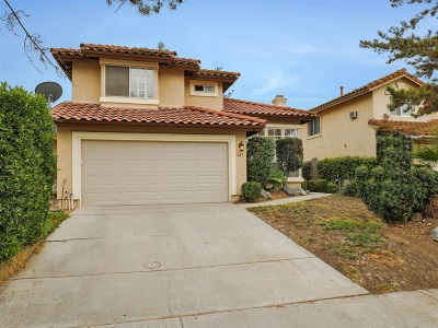 Escondido Single Family Home For Sale: 665 Shadywood Dr