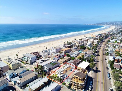Pacific Beach, Mission Beach Multi Family 2-4 For Sale: 732-34 Jersey Court
