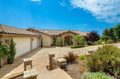 Vista Single Family Home For Sale: 988 Ashley Ln