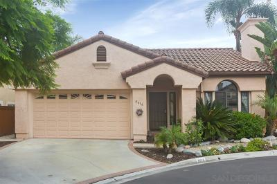 Santee Single Family Home For Sale: 8616 Paseo Del Sol