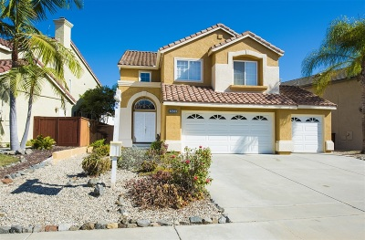Escondido Single Family Home For Sale: 2453 Bear Rock Gln
