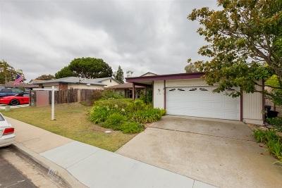 San Diego Single Family Home Pending: 6159 Charae Street