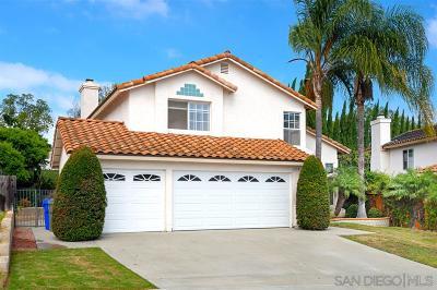 Oceanside Single Family Home Pending: 1579 Avenida Oceano