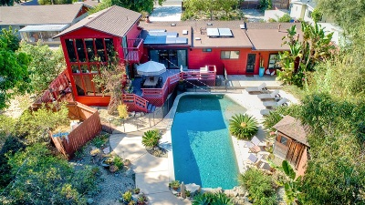 Oceanside Single Family Home For Sale: 1833 California St.