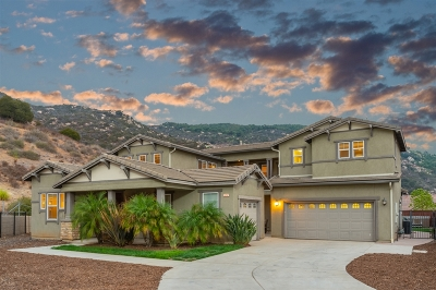 Escondido Single Family Home For Sale: 3242 Katharine Dr