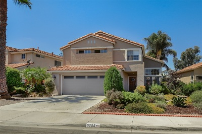 Oceanside Single Family Home For Sale: 3755 Via Las Villas