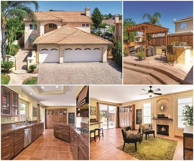 San Marcos Single Family Home For Sale: 1362 Corte Avispon