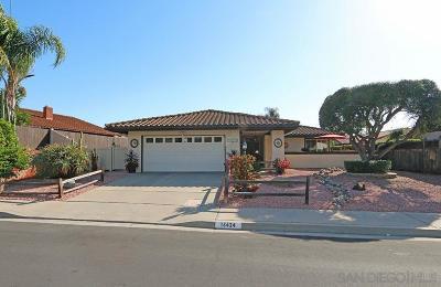 Single Family Home For Sale: 16424 Gabarda Rd.