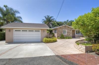 Carlsbad Single Family Home For Sale: 2815 Elmwood St.