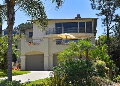 Del Mar Single Family Home For Sale: 2143 Cordero