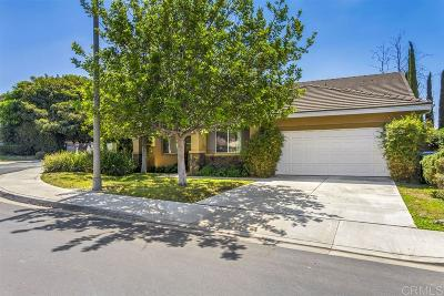 Vista Single Family Home For Sale: 1589 Summer Creek Ct
