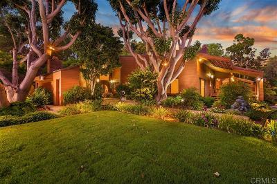 el cajon Single Family Home For Sale: 2057 Hidden Crest Dr