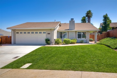 Single Family Home For Sale: 17369 Tablero Ct