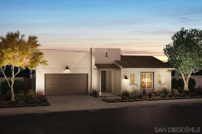 Santee Single Family Home For Sale: 8981 Trailridge Ave #Lot 121,