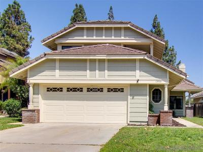 San Diego Single Family Home For Sale: 13916 Stoney Gate Pl