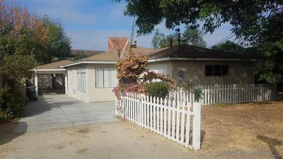 Escondido Single Family Home For Sale: 1215 S Maple