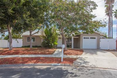 Oceanside Single Family Home For Sale: 4801 Siesta Pl