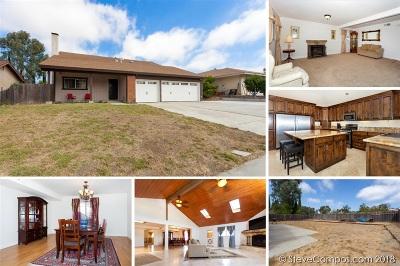 Oceanside Single Family Home For Sale: 2486 Bradley St
