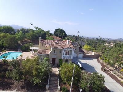 Escondido Single Family Home For Sale: 399 Amparo Dr