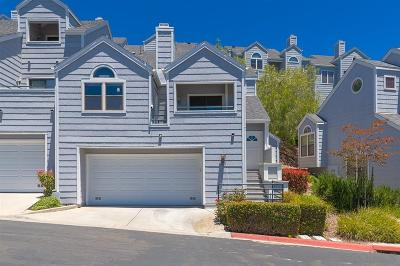 San Diego Townhouse Pending: 11011 Scripps Ranch
