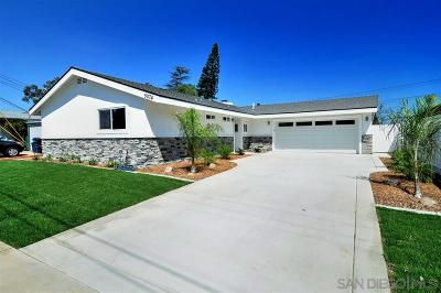 San Diego CA Single Family Home For Sale: $788,000
