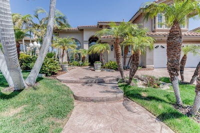 Rancho Del Rey Single Family Home For Sale: 459 Manzano Pl