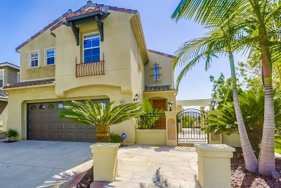 Carlsbad Single Family Home For Sale: 6882 Via Borregos
